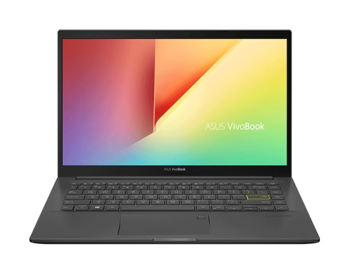 Laptop Asus Vivobook A415EA-EB360T/ Black/ Intel Core i5-1135G7 (4.20Ghz, 8MB)/ RAM 8GB DDR4/ 512GB SSD/ 14 inch FHD/  Intel Iris Xe Graphics/ FP/ 3 Cell/ Win 10SL/ 2 Yrs