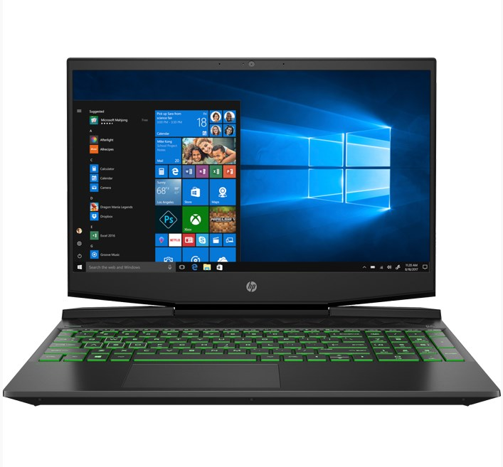 Laptop HP Pavilion Gaming 15-dk1086TX (206R3PA)/ Black/ Intel Core i7-10750H (2.60 GHz,12MB)/ RAM 8GB/ 512GB SSD/ NVIDIA GeForce GTX 1650Ti 4GB/ 15.6 inch FHD/ WL+BT/ 3 cell/ Win 10H/ 1 Yr