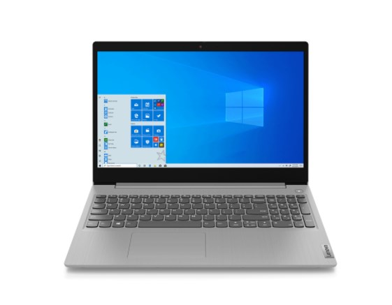 Laptop Lenovo IdeaPad 3 15ARE05 (81W4009FVN)/ Grey/ AMD Ryzen 5 4500U (2.30 Ghz, 8MB)/ 2*4GB RAM/ 256GB SSD/ 15.6 inch FHD/ 2 Cell 35 Whr/ Win 10H/ 1 Yr