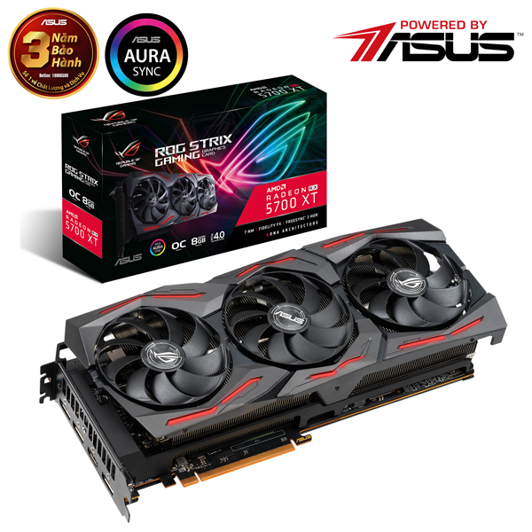 Card màn hình ASUS ROG STRIX-RX 6800-O16G-GAMING (16GB GDDR6, 256-bit, HDMI, 2x8-pin)