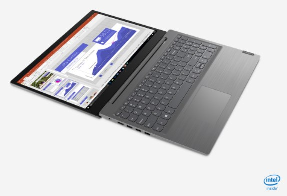 Laptop Lenovo V15-IIL (82C500SSVN)/ Grey/ Intel Core i7-1065G7 (1.30 GHz, 8MB)/ RAM 8GB DDR4/ 512GB SSD/ Intel Iris Plus Graphics/ 15.6 inch FHD/ 2 Cell 30 Whr/ DOS/ 1 Yr