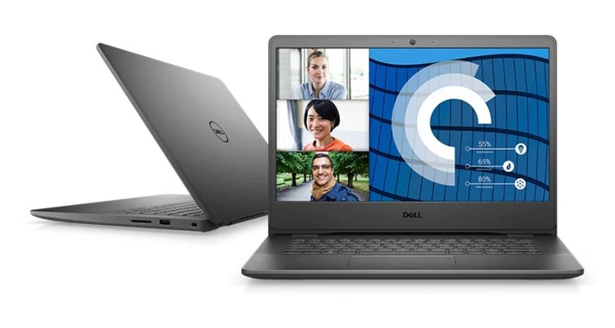 Laptop Dell Vostro 3400 (V4I7015W)/ Black/ Intel Core i7 - 1165G7 (up to 4.70 Ghz, 12MB)/ RAM 8GB DDR4/ 512GB SSD/ Nvidia Geforce MX330 2GB/ 14 inch FHD/ 3 Cell 42 Whr/ Win 10/ 1 Yr Pro Support