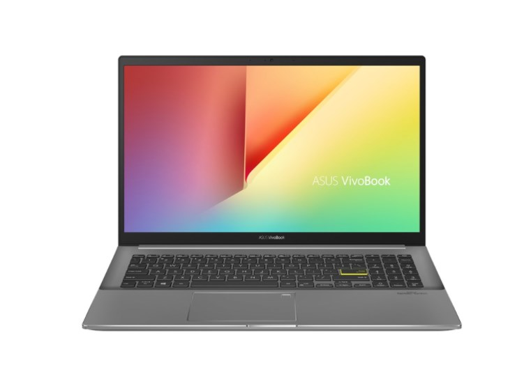 Laptop Asus Vivobook S15 S533EQ-BQ011T/ Black/ Intel Core i5-1135G7 (up to 4.20 Ghz, 8MB)/ RAM 8GB DDR4/ 512GB SSD/ Nvidia Geforce MX350 2GB D5/ 15.6 inch FHD/ FP/ 3 Cell 50 Whr/ Win 10SL/ 2 Yrs