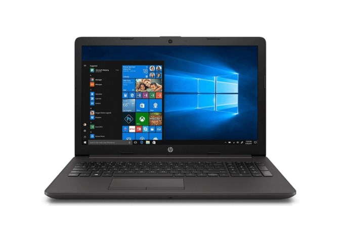 Laptop HP 250 G7 258M8PA/ Grey/ Intel Core i5-1035G1 (1.00 Ghz, 6MB)/ RAM 4GB DDR4/ 256GB SSD/ Intel UHD Graphics/ 15.6 inch FHD/ 3 Cell 41 Whr/ Win 10/ 1 Yr