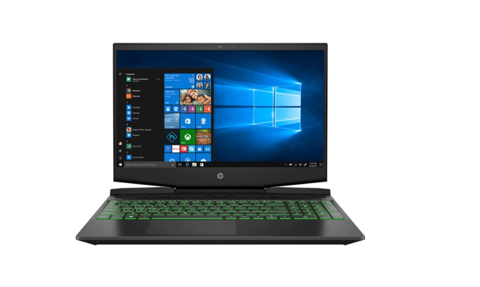 Laptop HP Pavilion Gaming 15-dk1158TX (31J35PA)/ Intel Core i7-10750H (2.60 Ghz, 12MB)/ RAM 8GB DDR4/ 512GB SSD + 32GB SSD/ Nvidia Geforce GTX 1650 4GB/ 15.6 inch FHD/ WL + BT/ 3 Cell/ Win 10H/ 1 Yr