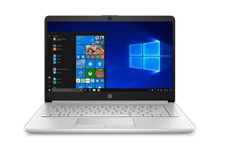 Laptop HP 14s-cf2045TU (1X0J0PA)/ Silver/ Intel Pentium N5030 (1.10 Ghz, 4 MB)/ RAM 4GB DDR4/ 256GB SSD/ 14 inch HD/ Intel UHD 605 Graphics/ 3 Cell/ Win 10H/ 1 Yr
