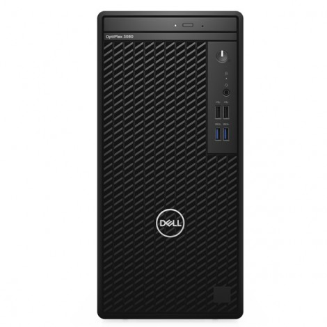 Máy bộ Dell Optiplex 3080 MT 42OT3080011/Intel Core i3-10100 3.60 GHz up to 4.30 GHz, 6 MB/ RAM 4GB (1X4GB) DDR4 2666 MHz (2 slot) max 64GB/1TB 7200rpm SATA 3.5 HDD/ Intel UHD Graphics/Free Dos/1Yr