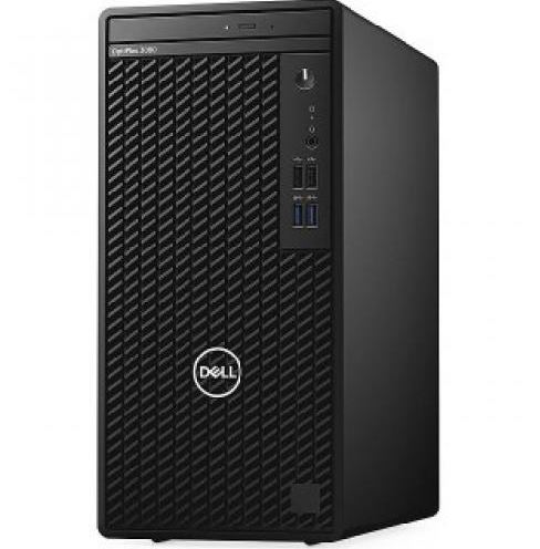 Máy Tính Để Bàn Dell OptiPlex 3080 MT (42OT3080012) / Core i3-10100/4GB DDR4/1TB HDD/Fedora 6-Core, 12MB Cache, 3.1GHz to 4.5GHz, 65W/Key + Mouse/ ubuntu/ 1Yr