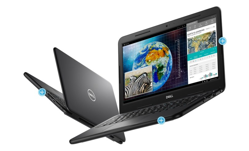 Laptop Dell Lattitute 3310 (Ben)/ Intel Core i5-8265U (1.60 Ghz, 6 MB)/ RAM 8GB DDR4/ 256GB SSD/ Intel UHD Graphics/ HD/ None Backlit/ 1 Yr