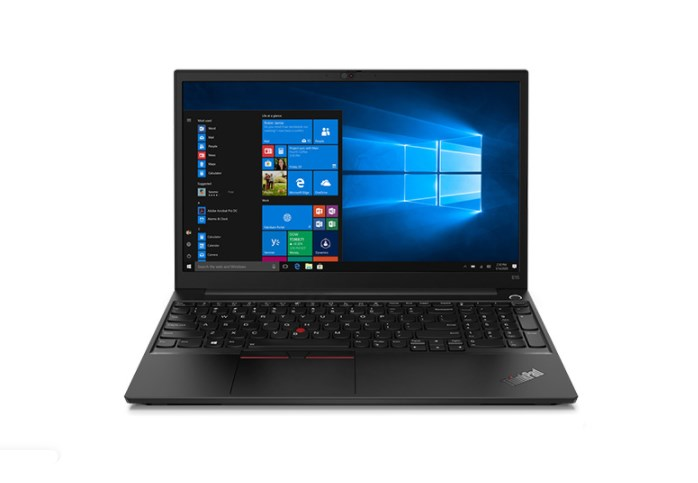 Laptop Lenovo Thinkpad E15 (20TD0081VA)/ Black/ Intel Core i7-1165G7  (up to 4.70 Ghz, 12 MB)/ RAM 8GB DDR4/ 512GB SSD/ 15.6 inch FHD/ Intel Iris Xe Graphics/ WL+BT/ LED_KB/ 3 Cell 45 Whr/ No OS/ 1 Yr