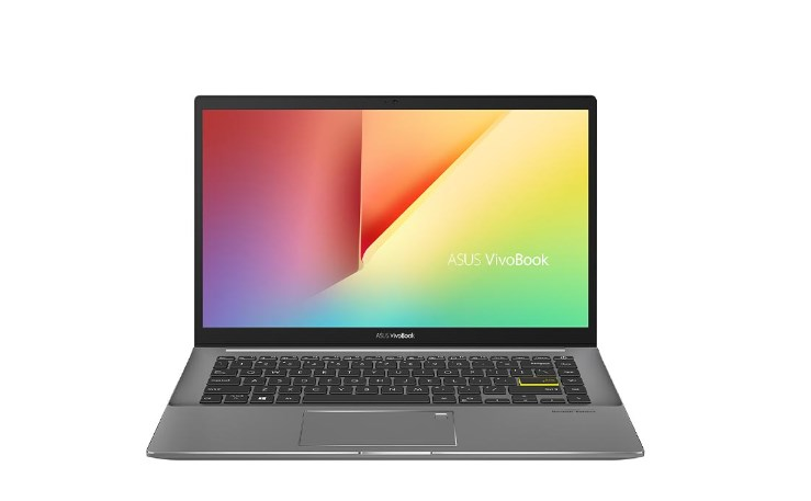 Laptop Asus Vivobook S433EA-AM439T/ Black/ Intel Core i5-1135G7 (up to 4.20 Ghz, 8 MB)/ RAM 8GB DDR4/ 512GB SSD/ 14 inch FHD/ Intel Iris Xe Graphics/ NumPad/ Win 10/ 2 Yrs