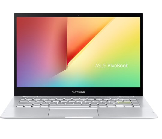 Laptop Asus Vivobook TP470EA-EC029T/ Silver/ Intel Core i5-1135G7 (upto 4.20GHz, 8MB)/ RAM 8GB DDR4/ 512GB SSD/ 14 inch FHD/ Intel Iris Xe Graphics/ 3 cell 42Whr/ Win 10H/ 2 Yrs
