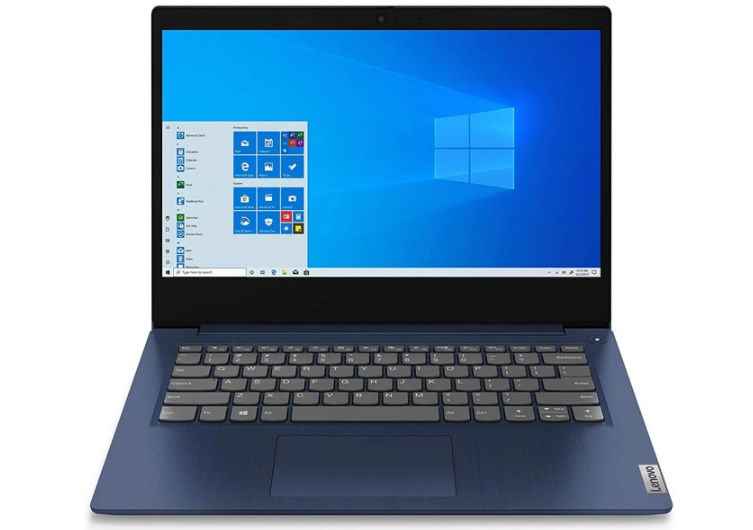 Laptop Lenovo IdeaPad Slim 3 14ITL6 (82H700G1VN)/ Blue/ Intel Core i5-1135G7 (up to 4.20 Ghz, 8 MB)/ RAM 8GB DDR4/ 512GB SSD/  Intel Iris Xe Graphics/ 14 inch FHD/ FP/ Win 10/ 2 Yrs