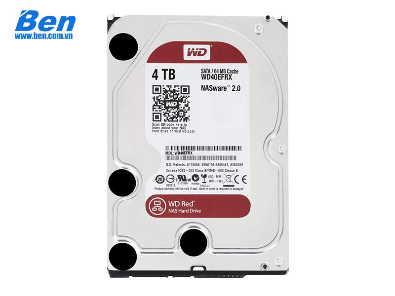 Ổ cứng gắn trong Western Red 4TB 3.5SATA3 64MB Cache
