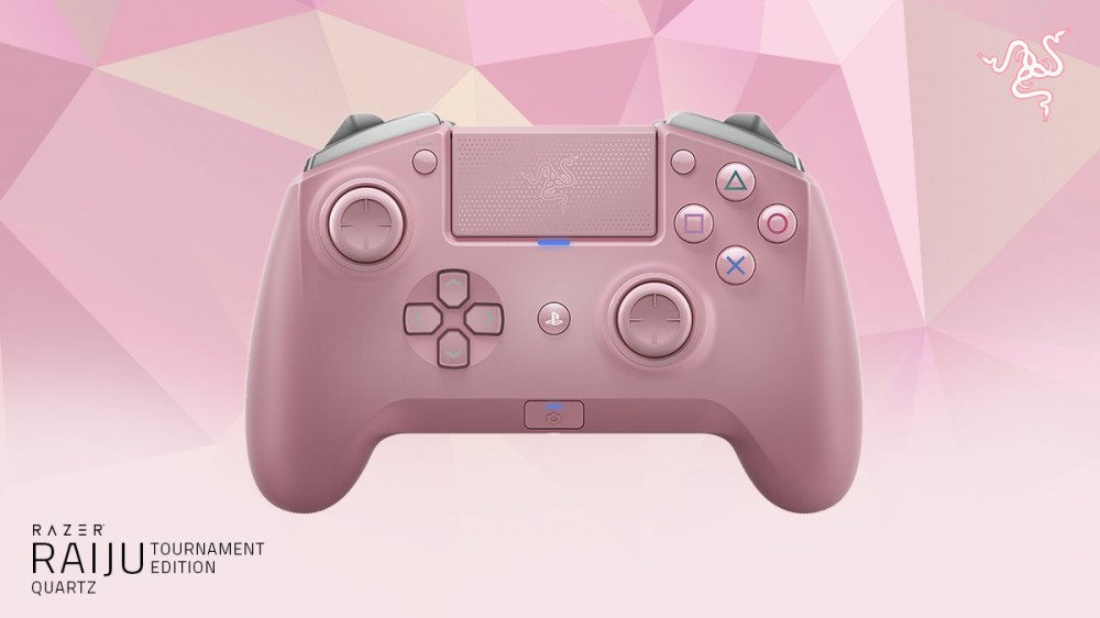 Tay cầm chơi game Razer Raiju Tournament Edition Quartz (PC)