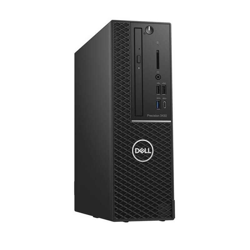 Dell Precision 3430 Tower CTO BASE (42PT3430D01)/ Intel Xeon E-2124/ Ram 8GB (2X4GB)/ HDD 1 TB/ NVidia Quadro P620 2GB GDDR5/ DVDRW/ Mouse + Keyboard/ Ubuntu Linux 16.04