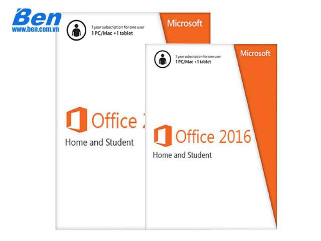 PM Microsoft Office Home and Student 2016 32-bit/x64 English Win English APAC EM Medialess (79G-04679)