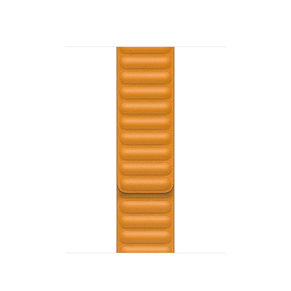 Dây đeo Apple Watch 40mm California Poppy Leather Link - Large I Chính Hãng