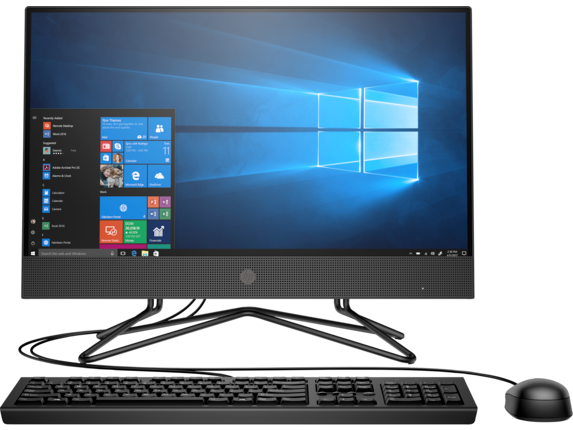 "Máy tính để bàn HP 205 Pro G4 AIO Non Touch, AMD R5 4500U,8GB RAM,256GB SSD,DVDRW, AMD Graphics,21.5""FHD,Wlan ac+BT,Keyboad,Mouse,Win 10 Home 64,1Y WTY_31Y60PA"