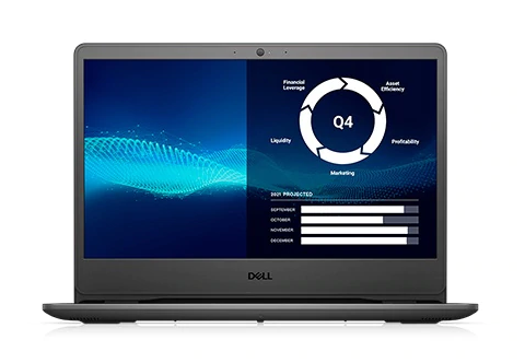 Laptop Dell Vostro 3405 (V4R33250U501W)/ Black/ AMD Ryzen R3-3250U (2.60GHz, 4MB)/ Ram 4GB DDR4/ HDD 1TB/ AMD Radeon Graphics/ 14.0 inch HD/ No FP/ 3Cell/ Win10SL/ 1Yr