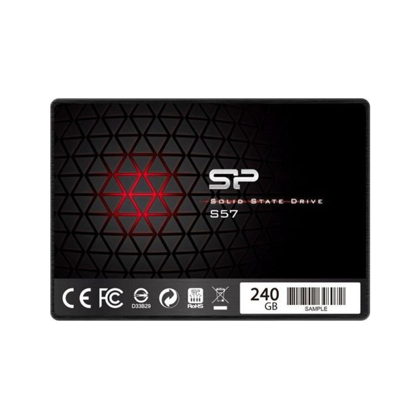 ổ cứng gắn trong SSD Silicon Power S57 240GB Sata3 2.5 inch (SP240GBSS3S57A25 )