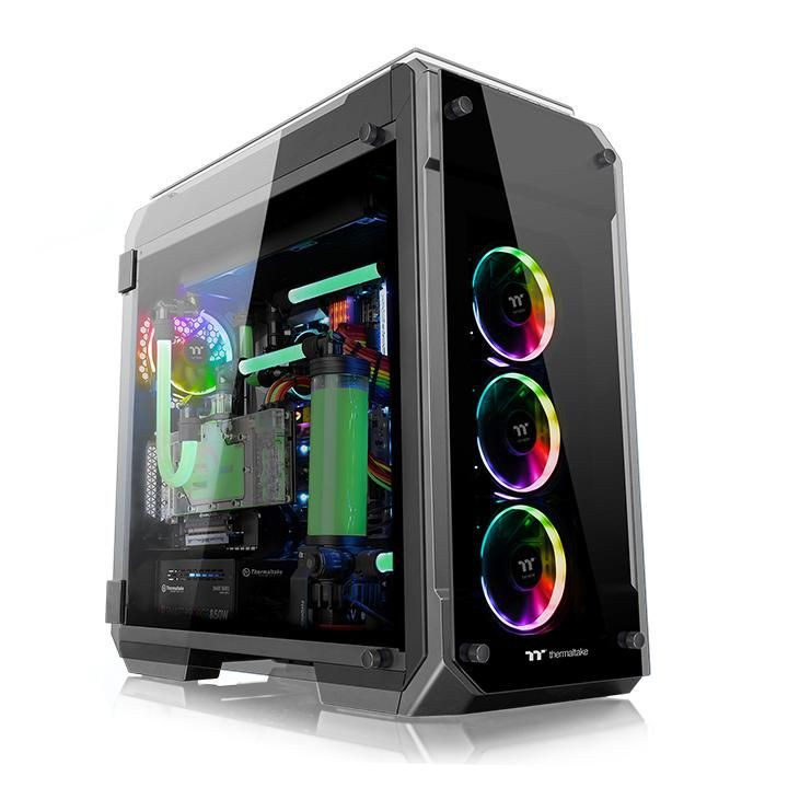 Vỏ Case Thermaltake View 71 Tempered Glass ARGB