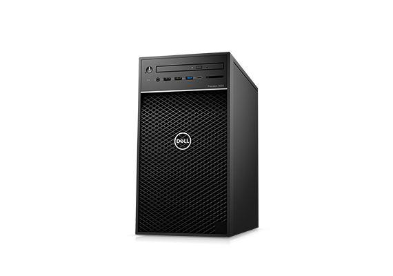 Dell Precision Mini Tower 3630 CTO BASE (42PT3630DW02)/ Intel Xeon E-2174G (3.80GHz, 8MB)/ Ram 8GB (2x4GB) DDR4/ SSD 256GB + HDD 1TB/ DVDRW/ NVIDIA Quadro P2200 5GB, 4DP, HDMI/ Key & Mouse/ Win 10 Pro/ 3Yrs