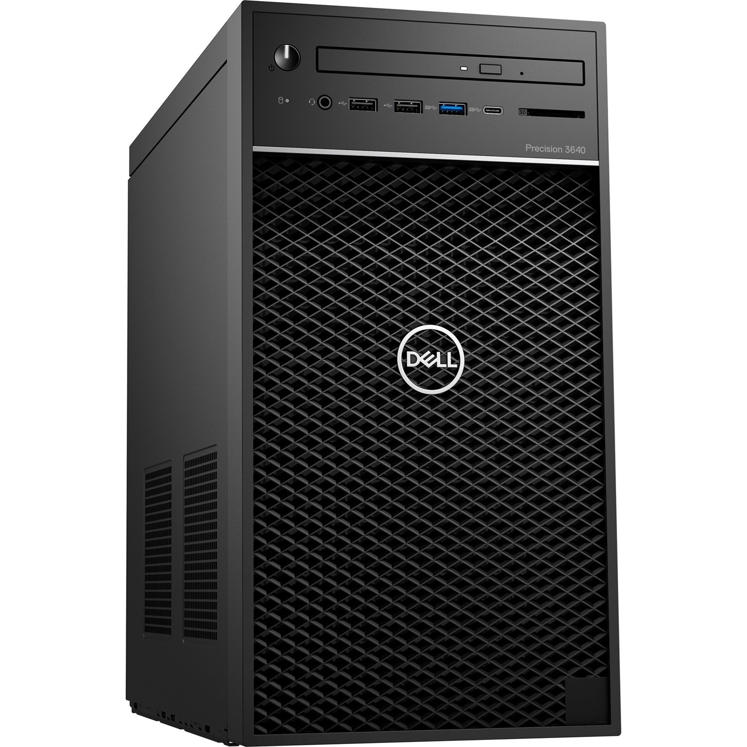PC Dell Precision 3640 Tower CTO BASE (42PT3640DW01)/ Intel Xeon W-1270P (3.8GHz, 16MB)/ Ram 8GB(1x8GB) DDR4/ SSD 256GB + HDD 1TB/ Nvidia Quadro P2200, 5GB, 4 DP/ DVDRW/ Key + Mouse/ Win10 Pro/ 3Yrs