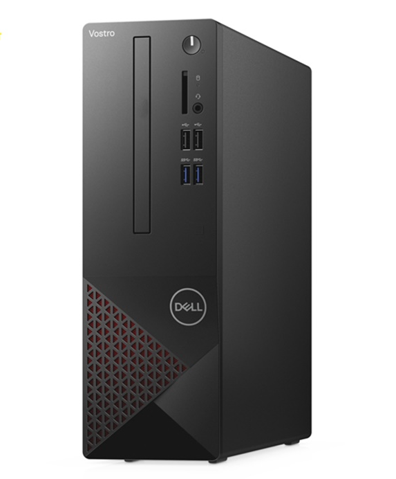 PC Dell Vostro 3681 (STI36206W-4G-1T-3Y)/ Intel Core i3-10100 (3.60GHz, 6MB)/ Ram 4GB(1x4GB) DDR4/ HDD 1TB/ Intel UHD Graphics/ Wifi + BT/ DVD/ WIN 10SL/ 3Yrs