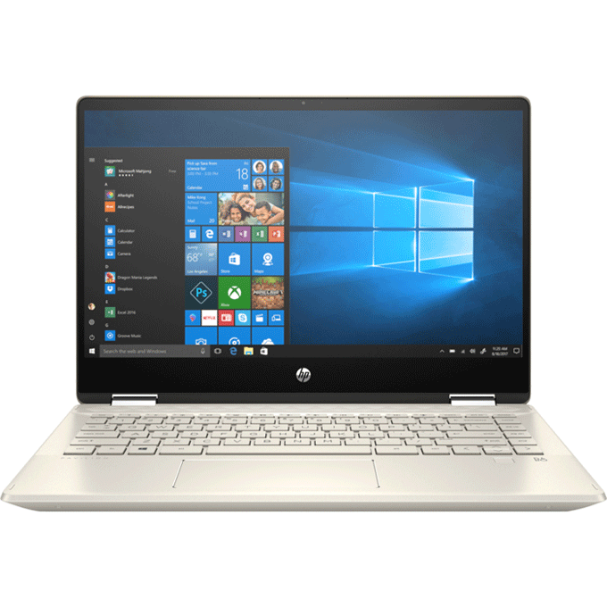 Laptop HP Pavilion x360 14-dw0062TU (19D53PA)/ Gold/ Intel core i5-1035G1/ Ram 8GB DDR4/ SSD 512GB/ 14.0 inch FHD Touch/ Pen/ 3Cell/ Win 10SL