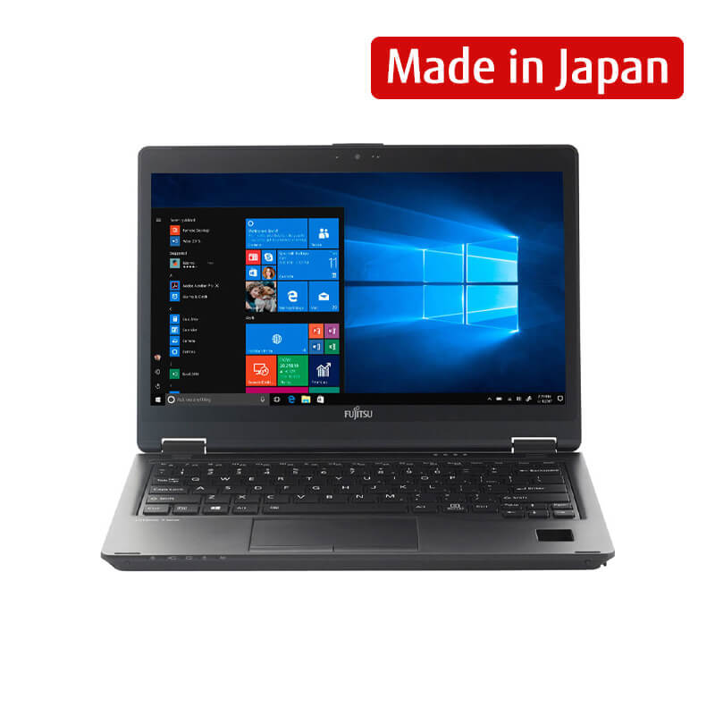 Laptop Fujitsu LIFEBOOK U729X (42LU7290002)/ Intel Core i5-8265U (1.60GHz, 6MB)/ Ram 8GB DDR4/ SSD 512GB/ Intel UHD Graphics/ 12.5 inch FHD Touch/ Palm Vein Sensor/ 3Cell/ No OS/ 1Yr