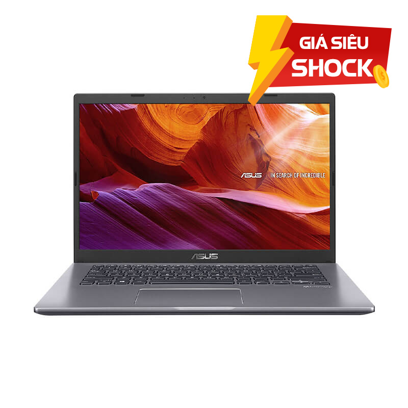 Laptop Asus X409FA-EK098T/ Grey/ Intel Core i3-8145U/ Ram 4GB/ HDD 1TB HDD/ 14.0inch FHD/ FP/ 2Cell/ Win10SL