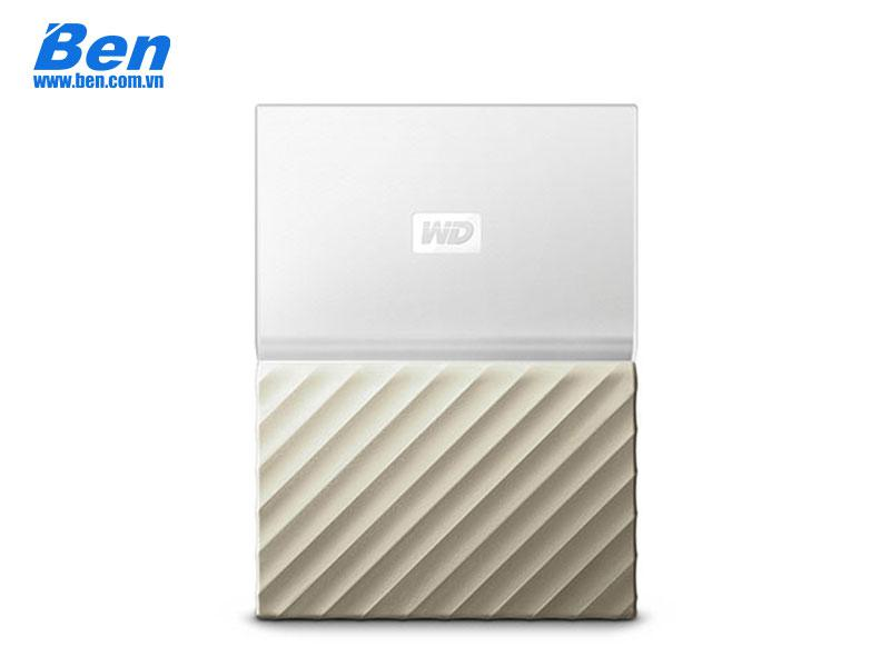 Ổ cứng di động Western Digital My Passport Ultra 4Tb 2.5 inch USB 3.0 White - Gold