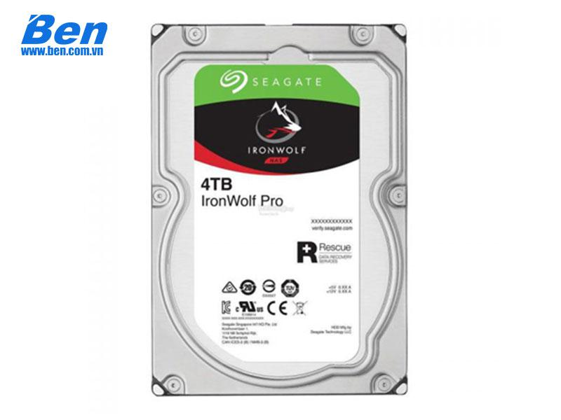 Ổ cứng gắn trong Seagate IronWolf Pro 4TB 3.5 SATA/ 7200rpm/ 128Mb cache (6Gb/s) ( ST4000NE001)