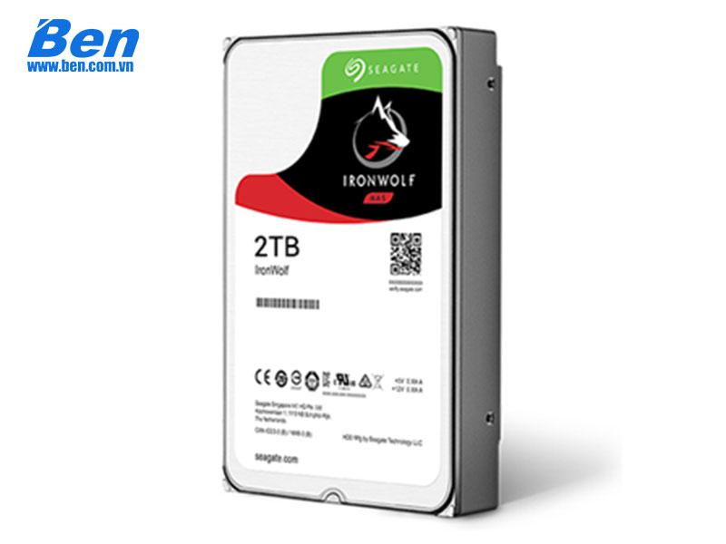 Ổ cứng gắn trong Seagate IronWolf Pro 2TB 3.5 SATA/ 7200rpm/ 128Mb cache (6Gb/s) (ST2000NE0025)