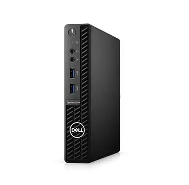 Máy tính OptiPlex 3080 Micro PC-3080M 42OC380003/ Intel(R) Core(TM) i5-10500T (6 Cores/12MB/12T/2.3GHz to 3.8GHz/35W) / 4GB (1X4GB) DDR4 non-ECC Memory / 2.5 1TB 7200rpm SATA HDD/ Fedora Linux Image Service / 1Y ProSupport +Keep Your HD