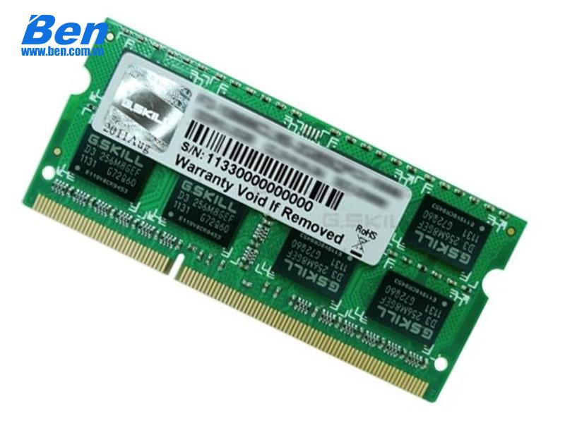 Ram Laptop DDR3 GSkill 8Gb bus 1600 MHz (F3-1600C11S-8GRSL) For Notebook