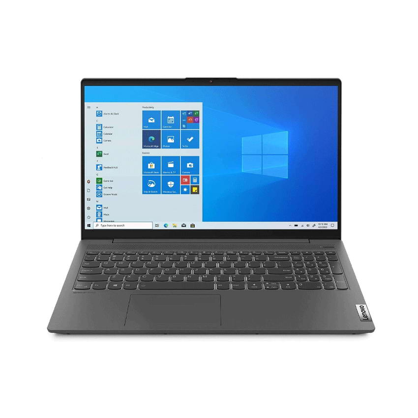Laptop Lenovo IdeaPad 5 14ITL05 (82FE00LLVN)/ Grey/ Intel Core i5-1135G7 (up to 4.20 Ghz, 8 MB)/ RAM 8GB DDR4/ 512GB SSD/ 14 inch FHD/ FP/3Cell 44.5 WHr/ Win 10H/ 2 Yrs