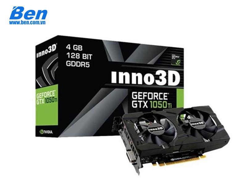 Card màn hình INNO3D GeForce GTX 1050 Ti Twin X2 4GB