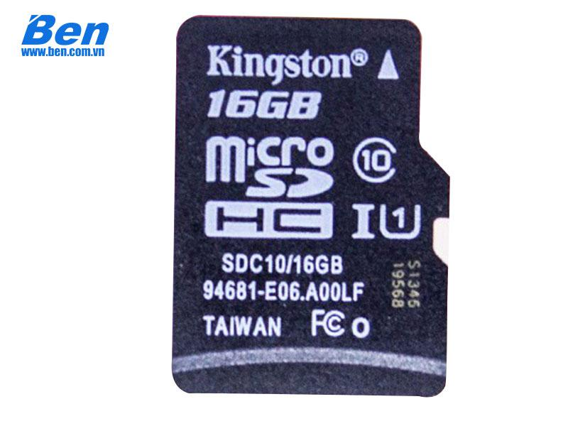 Thẻ nhớ Kingston SDHC 16GB Class 10 UHS-I 45MB/s_ SDC10G2/16GBFR