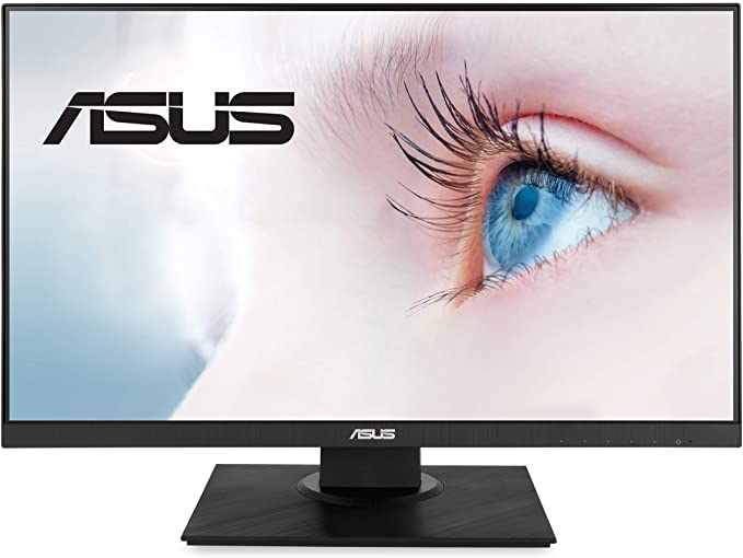 Màn hình LCD ASUS VA24DQLB 23.8/FHD/IPS/DSUB+HDMI+DP+USB+SPEAKER/5ms/75Hz/§en/Wall Mountable