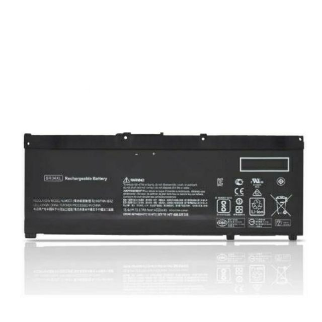Pin - SR04XL Battery for Hp 15-CE015DX 15-CE000 15-DC0000 Series TPN-C133 TPN-Q193