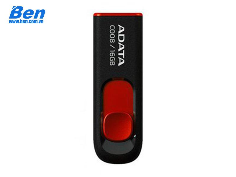 USB ADATA 16GB C008 Black - Red