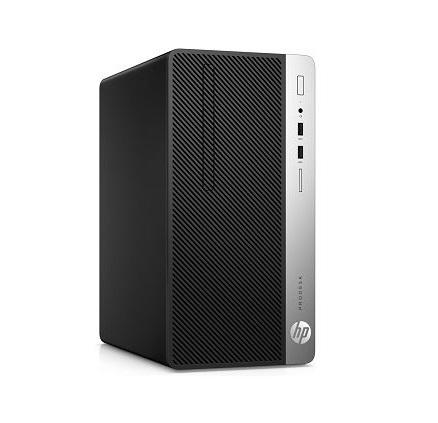 HP ProDesk 400 G6 MT (7YH46PA)/ Black/ Intel Core i3-9100 ( 3.60GHz, 6MB)/ Ram 4GB/ SSD 256GB/ Intel UHD Graphics 630/ DVDRW/ Key + Mouse/ DOS/ 1Yr