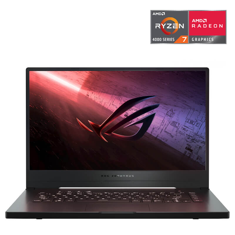 Laptop ASUS ROG Zephyrus G15 GA502IV-AZ033T/ Black/ AMD Ryzen R7-4800HS (2.90Ghz, 8MB)/ Ram 16GB DDR4/ SSD 512GB/ NVIDIA GeForce RTX 2060 6GB GDDR6/ 15.6 inch FHD-240Hz/ 4Cell/ Win 10SL/ 2Yrs