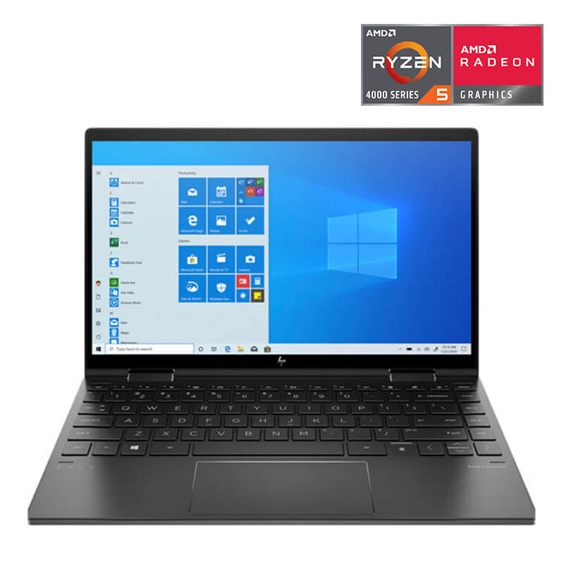 Laptop HP ENVY x360 Convertible (171N1PA)/ Black/ AMD Ryzen R5 4500U (2.3GHz, 8MB)/ Ram 8GB(1x8GB) DDR4/ SSD 256GB/ 13.3 inch FHD Touch/ FP/ HP Stylus Pen/ 3Cell/ Win10H