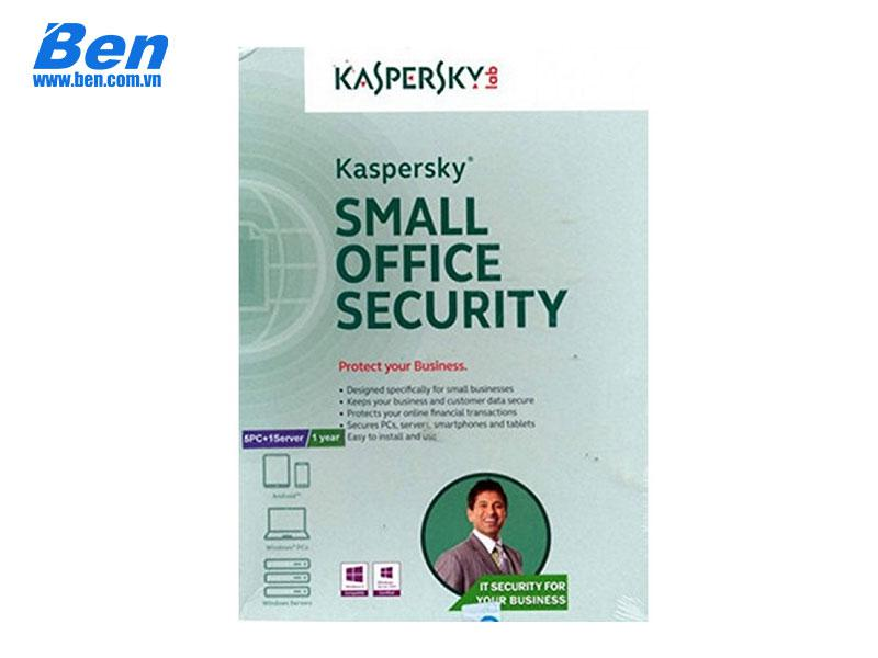 PM Kaspersky Small office Security 1 file server + 10 PCs( KSOS 1 Server + 10 PC)