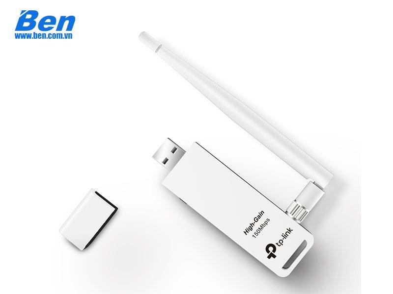 Card mạng TPLink WN722N Wireless - N USB
