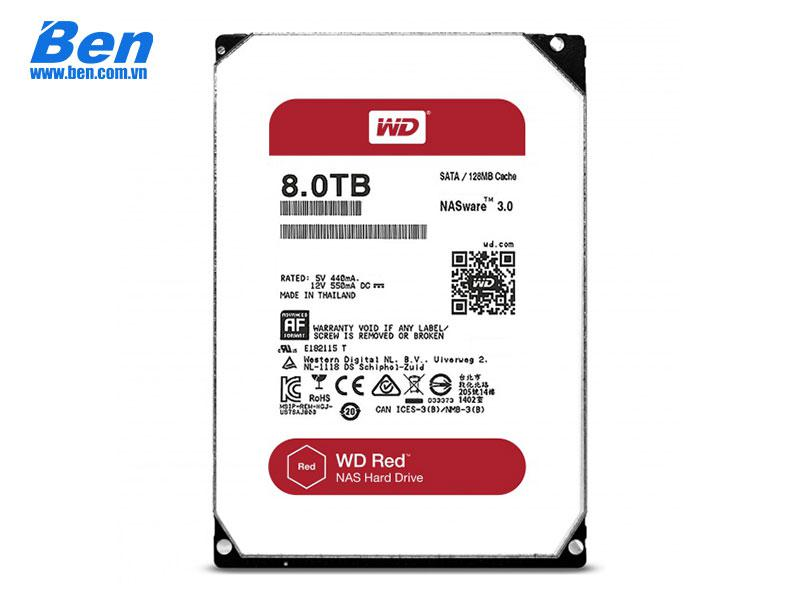 Ổ cứng gắn trong Western Red Pro 8TB 3.5 SATA3 / 128MB Cache /7200rpm