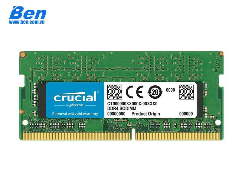 Ram Laptop DDR4 Crucial DDR4 8GB Bus 2666 (CT8G4SFS8266)